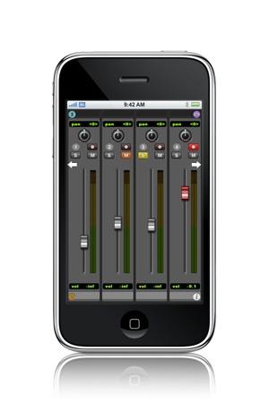 Pro Remote auf dem iPhone
