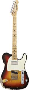 Fender CS Ltd. Andy Summers Tribute Tele 3Tone SB