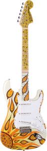 Fender CS '69 Strt NOS Psychedelic Graphic Ltd. Ed. 2005