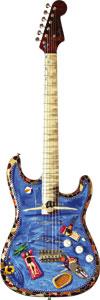 Fender CS Splash Strat