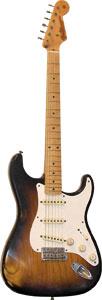Fender CS Ltd. '57 Heavy Relic Strat 2 Tone SB