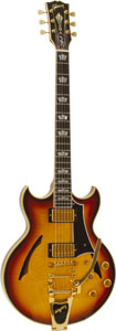 Gibson CS jonny A Signature Sunset Glow Bigsby